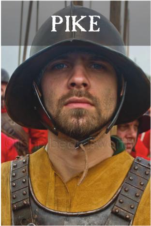 Be a 17th Century English Civil War Pikeman